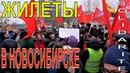 Новосибирск и Франция против реформ Протест в день конституции
