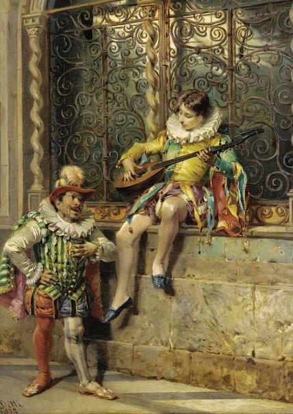 ХУДОЖНИК ЧЕЗАРЕ АУГУСТО ДЕТТИ. Чезаре Аугусто Детти (Cesare Auguste Detti, 1847, Сполетто 1914, Париж) итальянский исторический живописец. Умбрийский город Сполетто, как и большинство