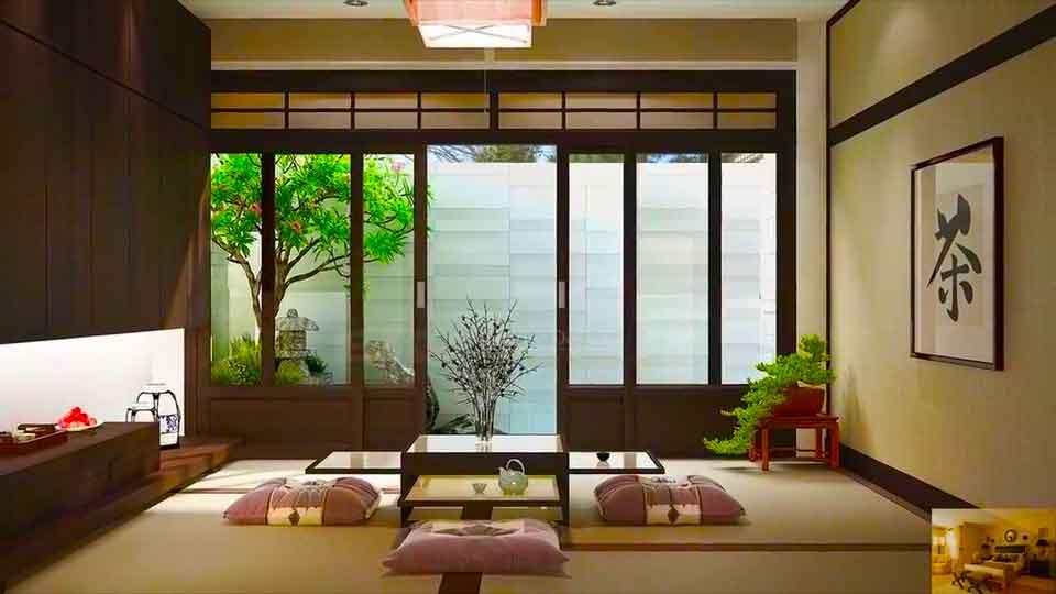 Японский стиль интерьера.