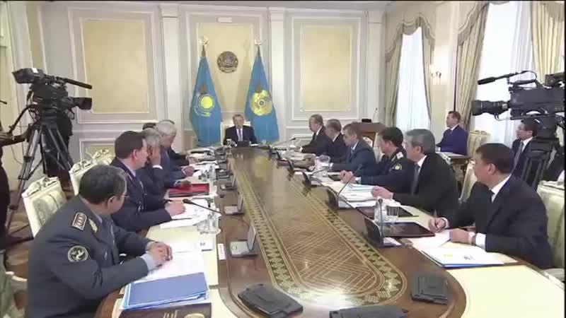 Назарбаев о терракте 5 июня 2016 г. в Актобе.