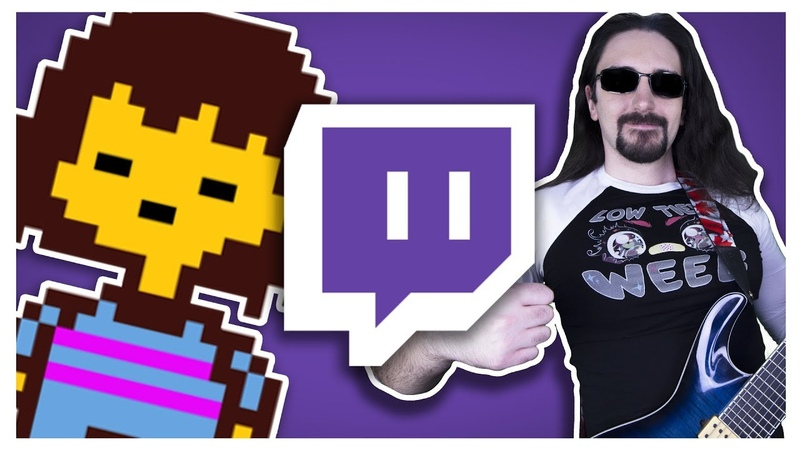 [LIVE FROM TWITCH] Undertale Theme Epic Metal Cover (Little V)