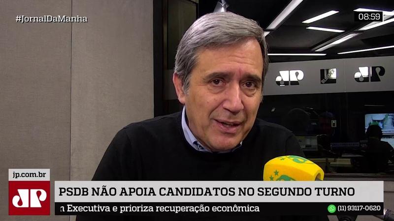 PSDB não vai apoiar nenhum candidato no segundo turno
