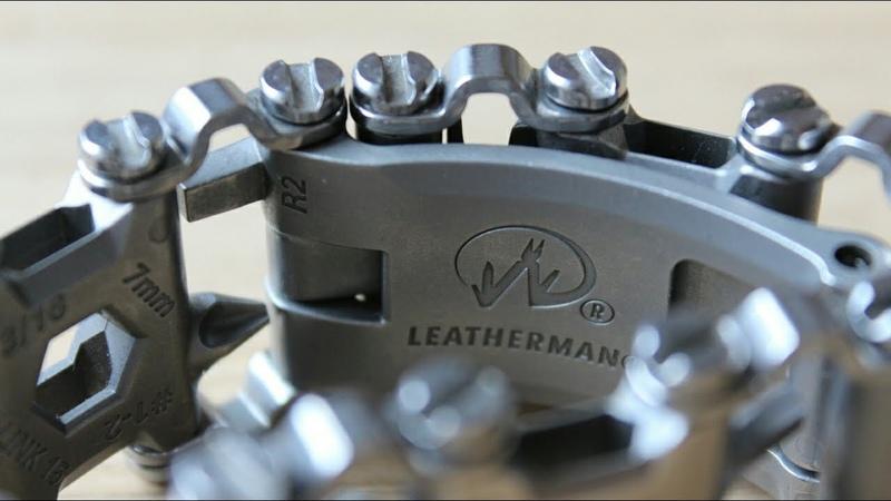 Отзыв на браслет leatherman tread после года ношения.