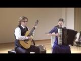 Richard Galliano's 'A French Touch' - Roman Zorkin &amp Tatiana Zorkina