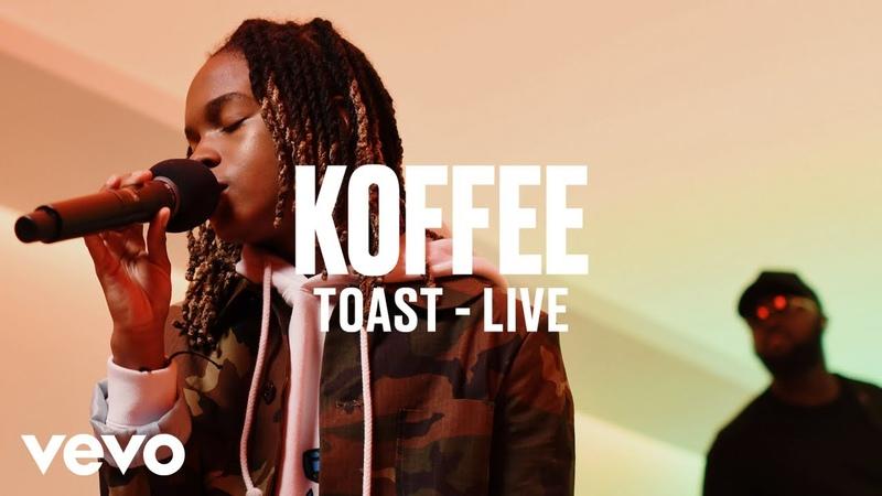Koffee - Toast (Live) - Vevo DSCVR