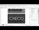 Texto Metal Biselado - Corel Draw