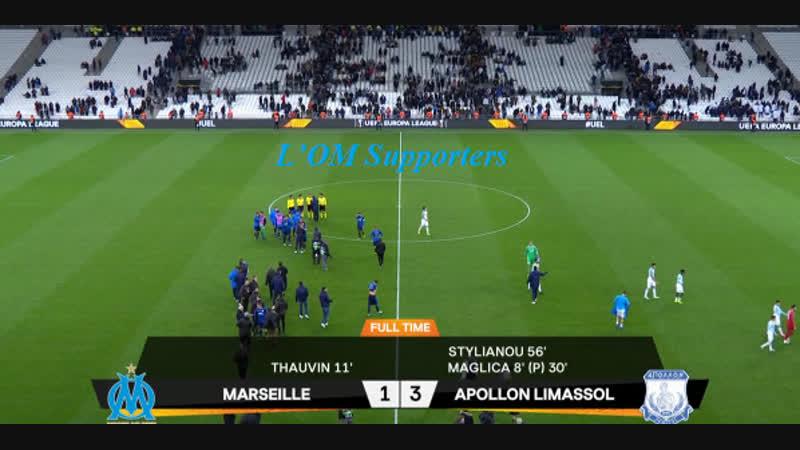 OM vs Apollon FC 1-3