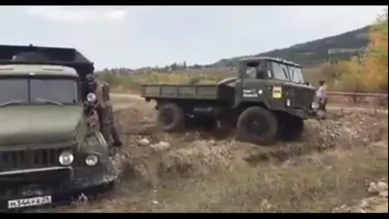 Кто круче Урал,ЗИЛ 131 или Газ 66_ ZIL131 URAL GAZ66