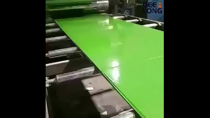 Green pp film faced shuttering plywood produce line, whatsapp 008615562171367.mp4