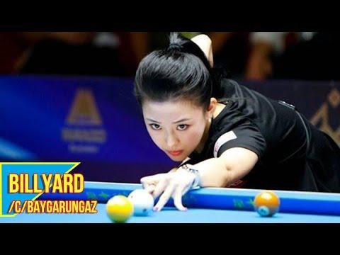 Nữ cơ thủ Billyard của Trung Quốc, vừa đẹp vừa đánh hay