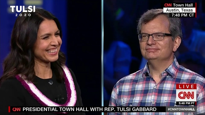 Tulsi Gabbard - Restoring honor, integrity courage to the Presidency - CNN Town Hall