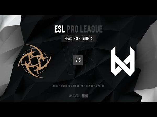 NiP vs devils.one - ESL Pro League Season 9 EU- map2 - de_overpass [TheCraggy Anishared]