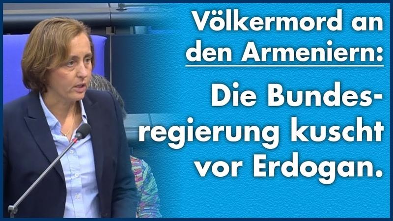 Beatrix von Storch (AfD) - Völkermord an den Armeniern Bundesregierung kuscht vor Erdogan