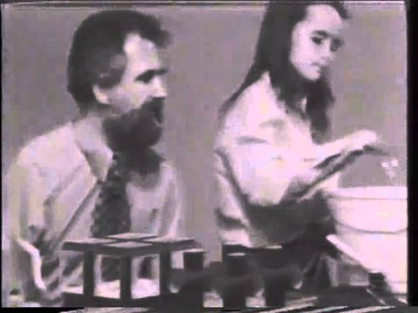 Soap Films and Minimal Surfaces 1974 (Alan Schoen and Rebecca)