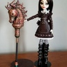 """Kari on Instagram: """"Totally new at video. Looks like I need to get my framing better but alas here it is. 😆 Alice Madness with her rusty hobby..."""