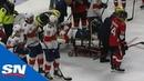 Panthers' Trocheck Stretchered Off The Ice After Brutal Leg Injury Хайповый Хоккей Спорт NHL НХЛ nhlnews