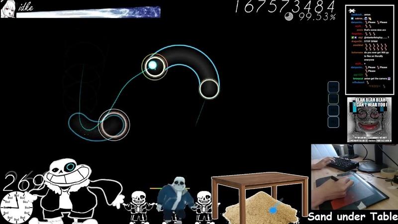 Osu! | idke | Imperial Circus Dead Decadence - Uta [Himei] HR 99.31 FC 2 937pp | Livestream!