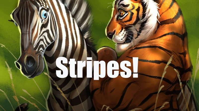 Live Stream Stripes... Yikes!!