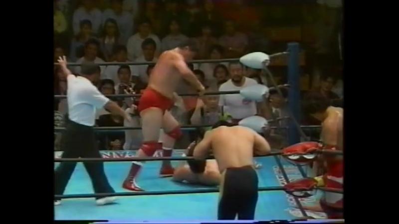 1993.07.02 - Jun Akiyama/Kenta Kobashi/Mitsuharu Misawa vs. Akira Taue/Toshiaki Kawada/Yoshinari Ogawa