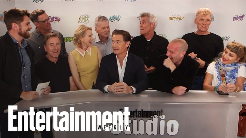 Twin Peaks Stars Break Down The Revivals Craziest Scenes | SDCC 2017 | Entertainment Weekly