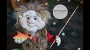 Как сшить куклу Рыбак в чулочной технике Куклы из капрона How to Make Handmade Dolls DIY