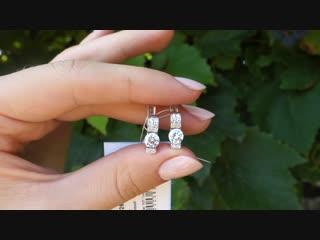 Серебряные серьги арт. ПР-2266