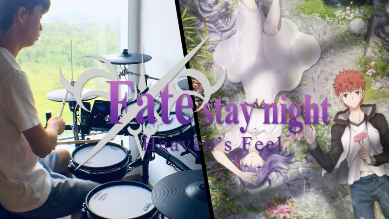 Fatestay night Heavens Feel - II. Lost Butterfly ED FULL - Aimer【I beg you】- Drum Coverを叩いてみた