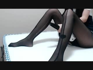 Pantyhose ASMR ❤ В колготках АСМР 丸子君17