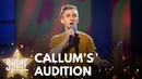 Callum Howells performs 'You'll Be Back' from the musical Hamilton Let It Shine BBC One