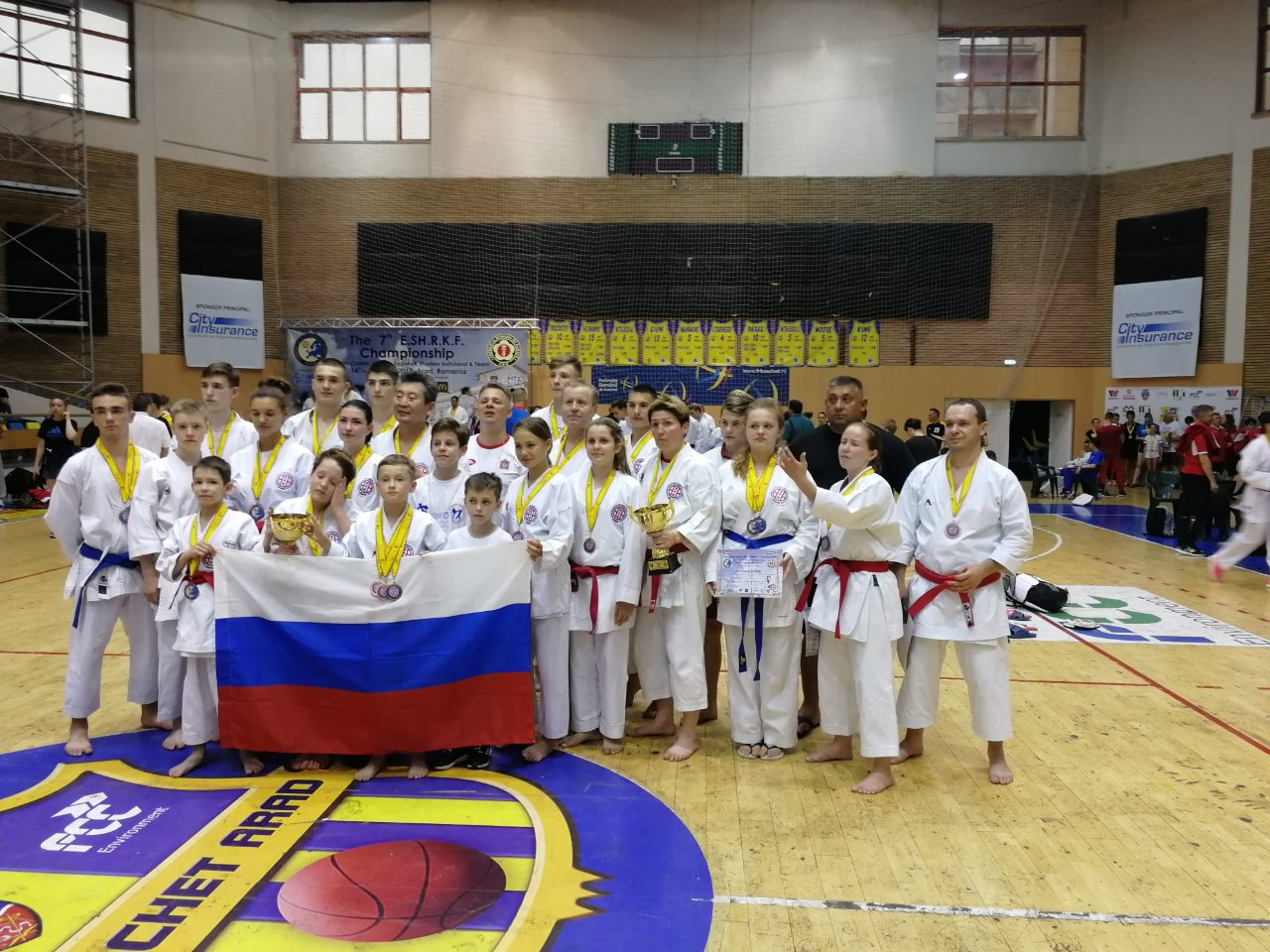 9 медалей Европы едут в Коломну!