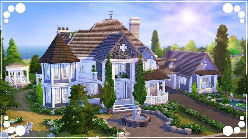 SUMMERVALE RESIDENCE 🌞 (FAMILY HOME) | The Sims 4 | Speed Build
