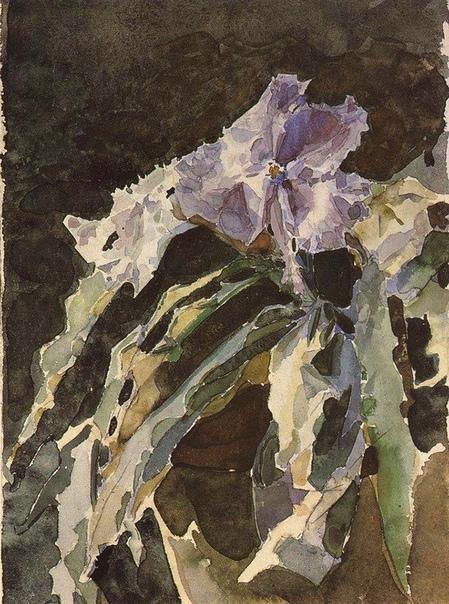 М.А. Врубель. Орхидея, 1886-1887.