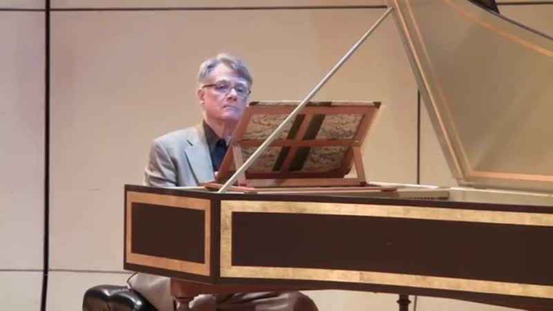989 J.S. Bach - Aria in A Minor, BWV 989 Variata alla maniera Italiana - John Gibbons, harpsichord