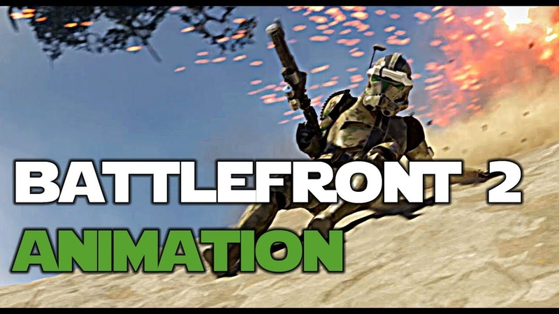 Invasion Star Wars Battlefront II Animation UE4