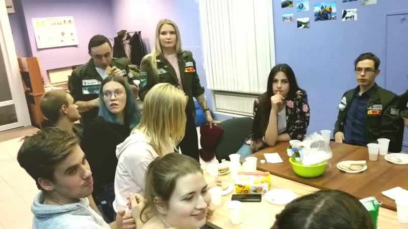 Знакомство СПО Бирюза и ССО Барс
