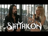 SATYRICON - Frost Deep Calleth Upon Deep, red energy and vegan choices @ Alcatraz fest 2018