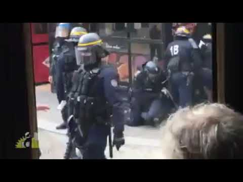 Mediapart s'est procuré une nouvelle vidéo de l'opération de la place de la Contrescarpe
