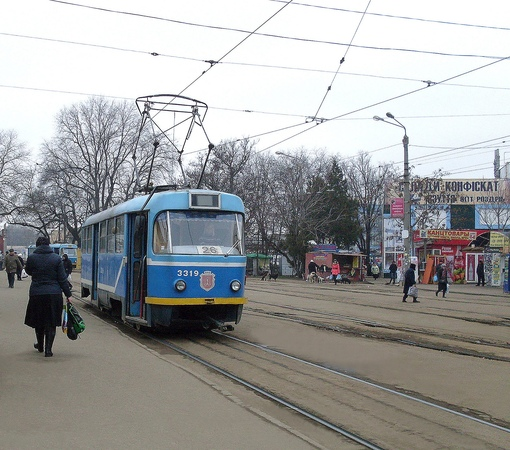 Odessa Tram - Riding on the Route No. 26 (part 2)