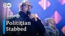 Polish politician stabbed during charity event speech DW News
