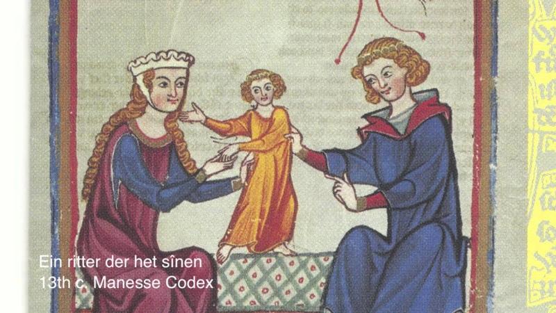 Minnesinger von Wissenlo, 13th c. Ein ritter der het sînen