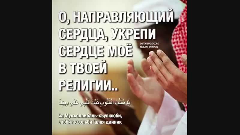 самое часто повторяемое ду'а Пророка Мухьаммада صلي الله عليه وسلم