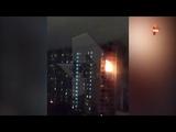 Один человек погиб при пожаре в многоэтажке на северо востоке Москвы