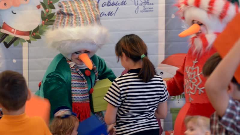 СНЕГОВИЧКИ Праздник в детском центре Малышок