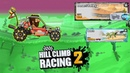 Hill climb racing 2 - Dune Buggy in the Desert Valley and Beach map