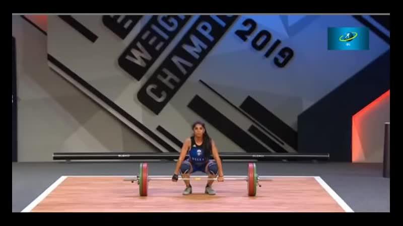 Тяжёлая атлетика.Грузия Женщины 49 кг.Чемпионат Европы-2019