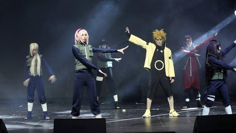 Живой Спектакль Наруто   Naruto Live Spectacle (Многоголосая озвучка)