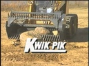 Loftness Kwik Pik Rock Picker for Skid Steers and Bidirectional Tractors