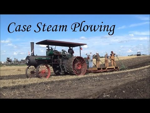1915 Case Steam Traction Engine Plowing