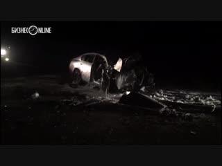 Под Иркутском водитель Lexus прорвал армейское оцепление и на скорости 170 км/ч влетел в БТР