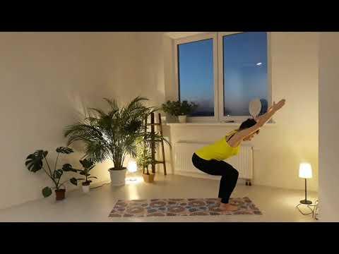 Азбука йоги. Йога для начинающих, эпизод 5: позы стоя (баланс сила)